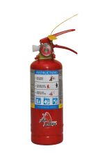 Jamaica 1kg ABC Powder Extinguisher