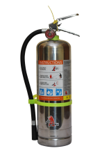 Jamaica 4kg ABC Powder Stainless Steel Extinguisher