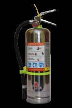 Jamaica 4kg ABC Powder Stainless Steel Extinguisher