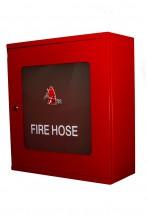 Fire Hose, Mild Steel Cabinet, Glass Window, 500x550x210