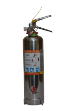 Jamaica 2kg ABC Powder Stainless Steel Extinguisher