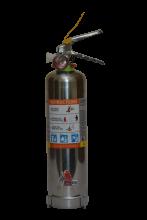 Jamaica 2kg ABC Powder Stainless Steel Extinguisher